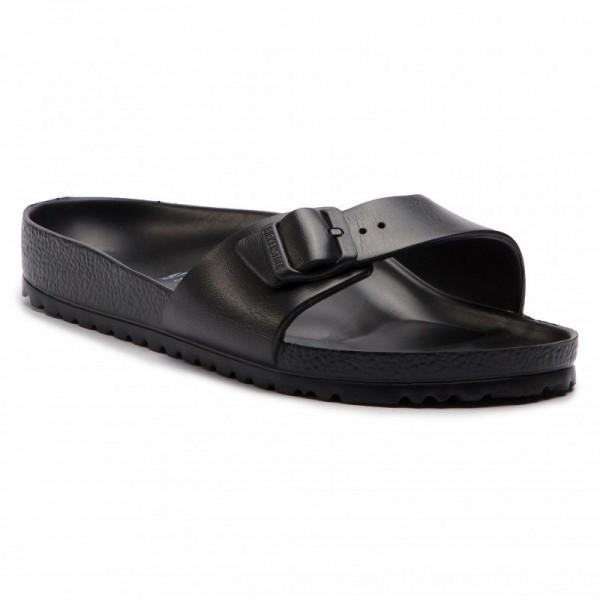 Birkenstock Pantoletten Madrid 0128161 Black [Outlet]