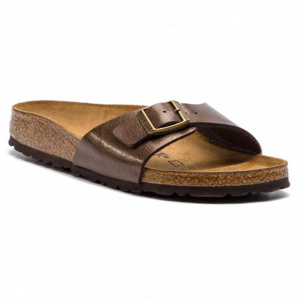 Birkenstock Pantoletten Madrid Bf 0239513 Graceful Toffee [Outlet]