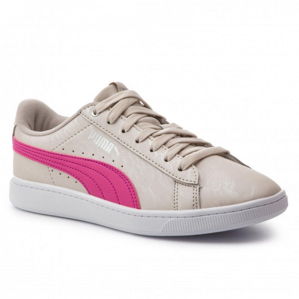 Puma Sneakers Vikky V2 Summer Pack 369113 01 Silver Gray/F Purple/Silver [Outlet]