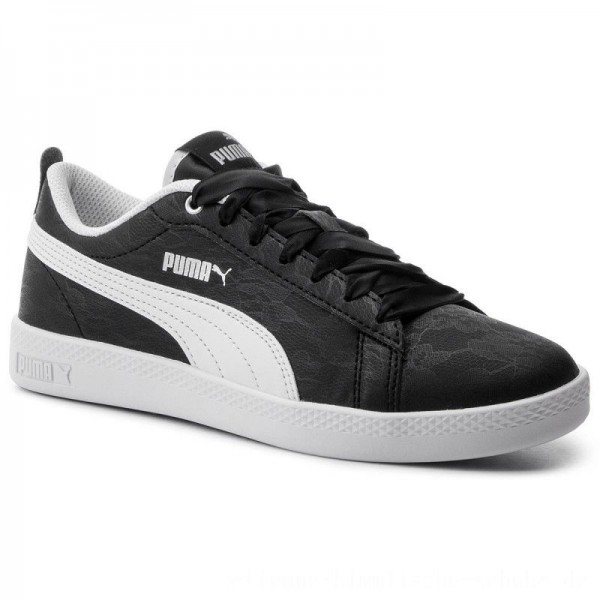 Puma Sneakers Smash Wns V2 Summer Pac 369130 01 Black/Puma White [Outlet]
