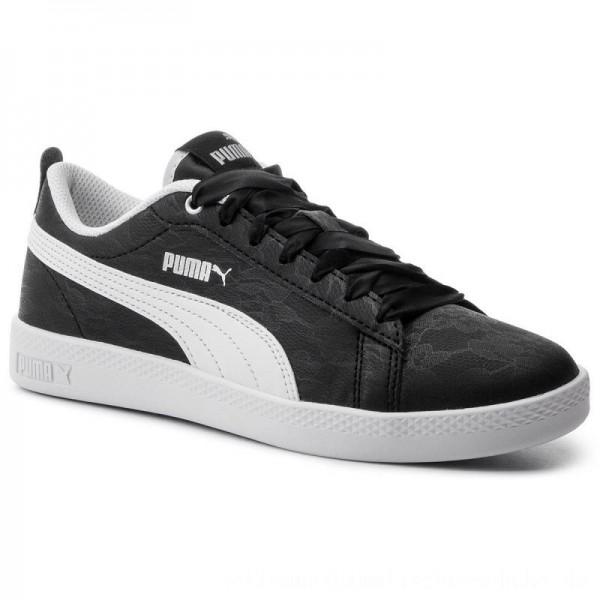 Puma Sneakers Smash Wns V2 Summer Pac 369130 01 Black/Puma White [Sale]