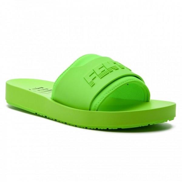 Puma Pantoletten Fenty Surf Slide Wns 367747 04 Green Gecko/Green Gecko [Outlet]