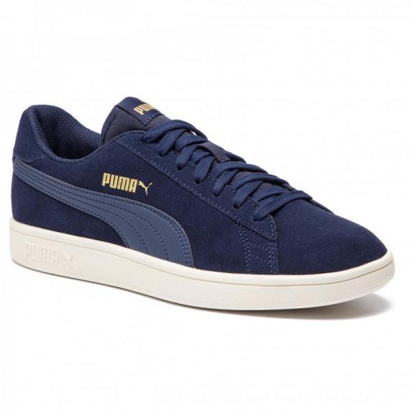 Puma Sneakers Smash V2 364989 24 Peacoat/Gold/Whisper White [Outlet]