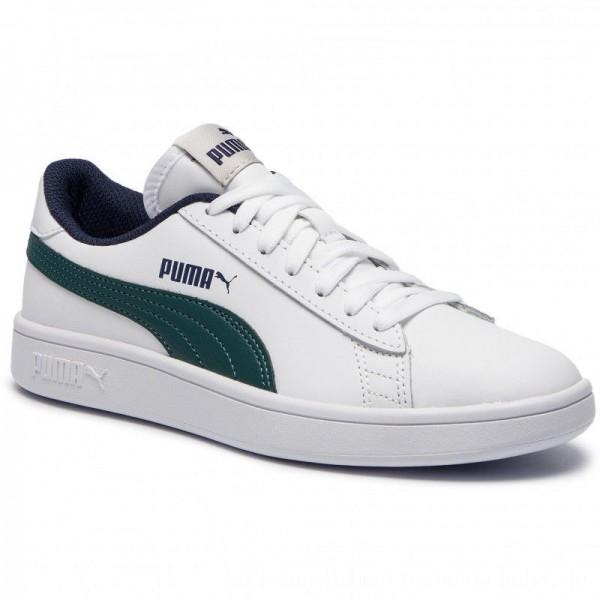 Puma Sneakers Smash V2 L Jr 365170 10 White/Ponderosa Pine [Sale]