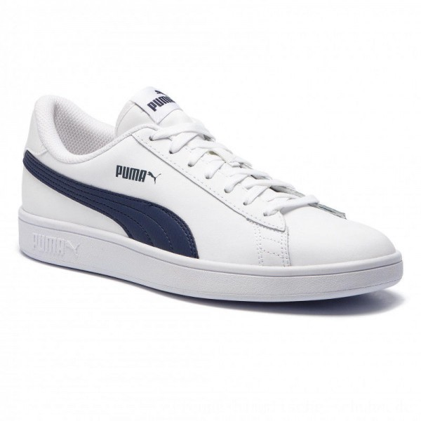 Puma Sneakers Smash V2 L 365215 02 White/Peacoat [Outlet]