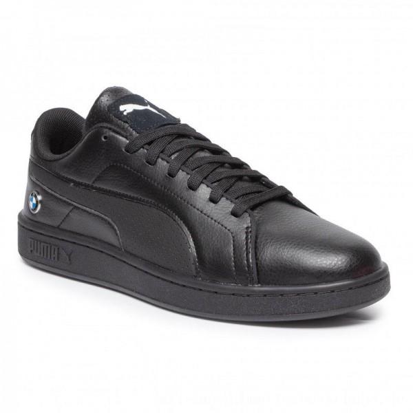 Puma Sneakers BMW MMS Smash V2 306450 03 Black/Puma Black [Outlet]