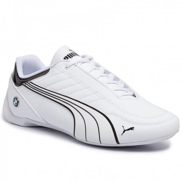 Puma Sneakers BMW Mms Future Kart Cat 306469 02 White/Puma Black [Outlet]