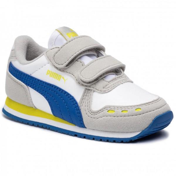 Puma Sneakers Cabana Racer SL V Inf 351980 77 White/Galaxy Blue [Sale]