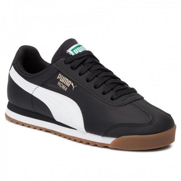 Puma Sneakers Roma Basic Summer Jr 359841 21 Black/Puma Black [Outlet]