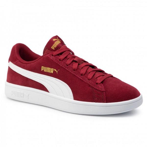 Puma Sneakers Smash v2 364989 29 Rhubarb/Puma Team Gold/White [Sale]