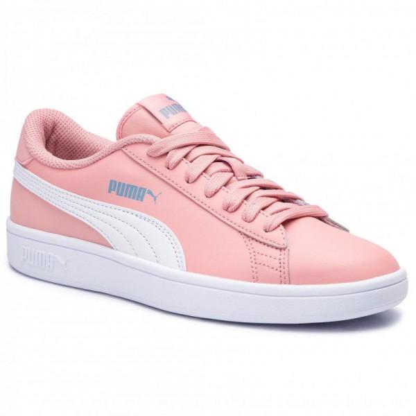 Puma Sneakers Smash V2 L Jr 365170 15 Bridal Rose/White F/Denim [Outlet]