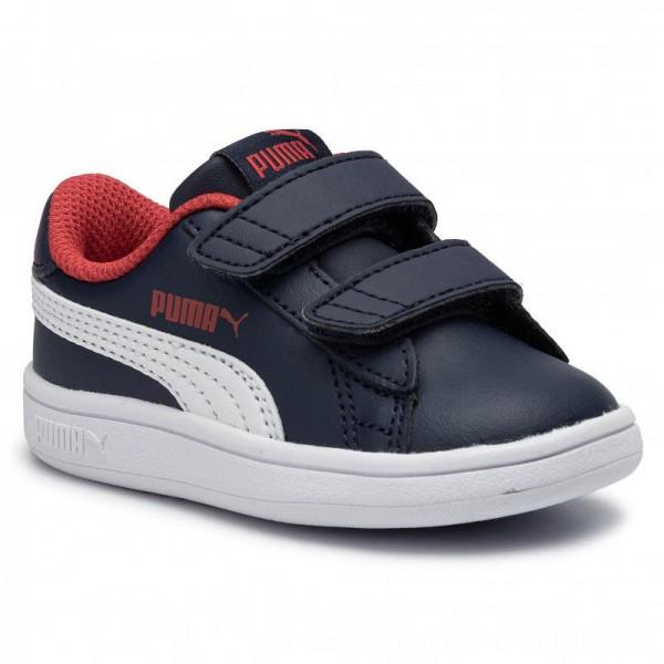 Puma Sneakers Smash V2 L V Inf 365174 13 Peacoat/Puma White [Sale]