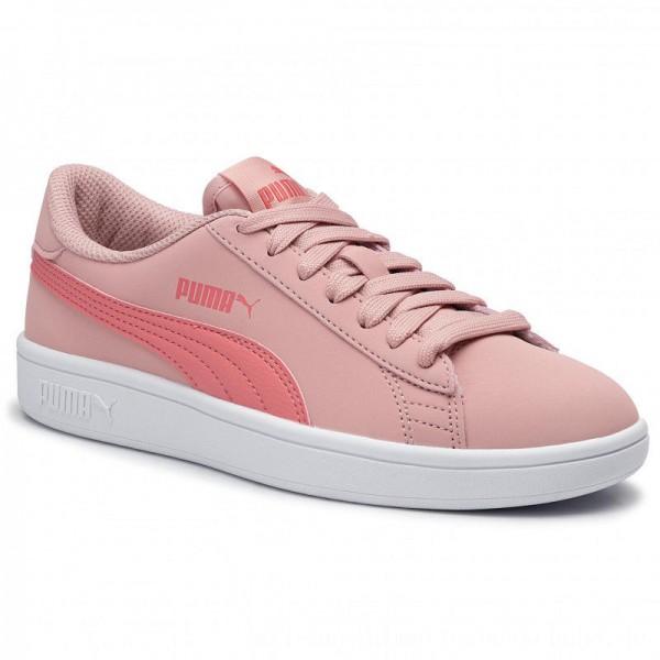 Puma Sneakers Smash V2 Buck Jr 365182 12 Bridal Rose/Calypso Coral [Outlet]