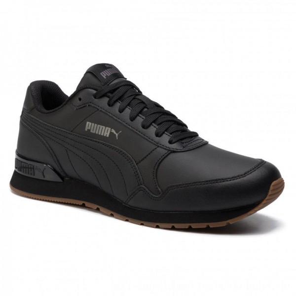 Puma Sneakers St Runner V2 Full L 365277 08 Black/Castlerock [Outlet]