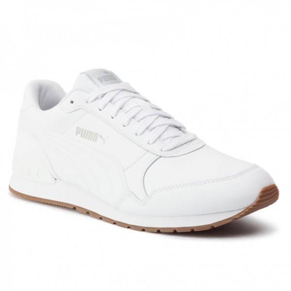 Puma Sneakers St Runner V2 Full L 365277 09 White/Gray Violet [Sale]