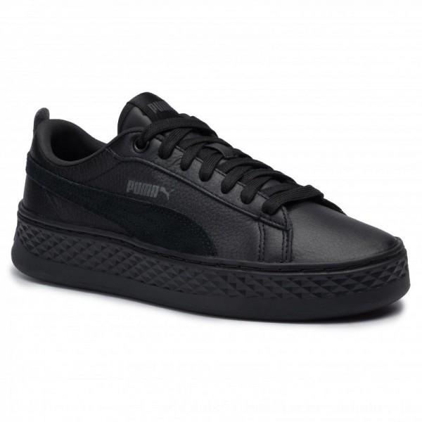 Puma Sneakers Smash Platform L 366487 01 Black/Puma Black [Outlet]