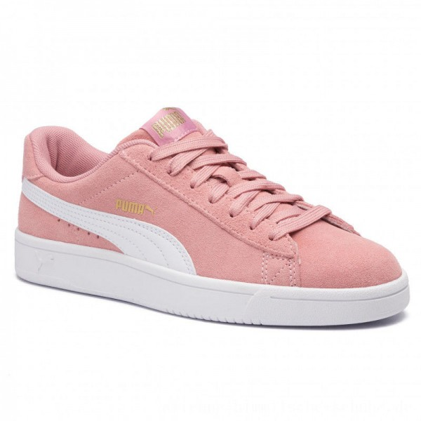[BLACK FRIDAY] Puma Sneakers Court Breaker Derby 367366 11 Bridal Rose/Puma White/Gold