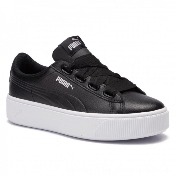 [BLACK FRIDAY] Puma Sneakers Vikky Stacked Ribb Core 369112 01 Black/Puma Black