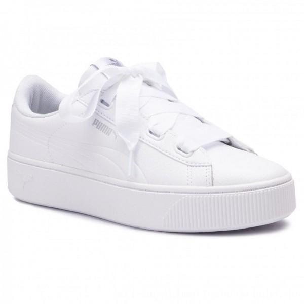 Puma Sneakers Vikky Stacked Ribb Core 369112 02 White/Puma White [Sale]