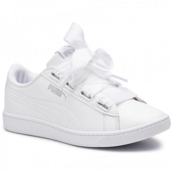 Puma Sneakers Vikky V2 Ribbon Core 369114 02 White/Puma Silver [Sale]