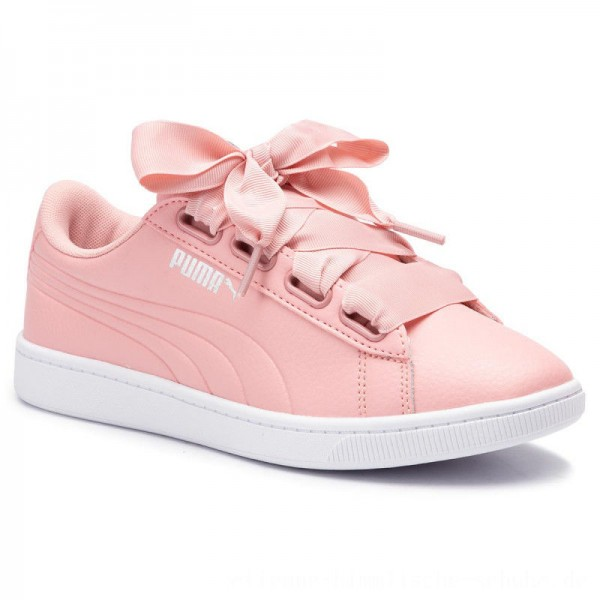 Puma Sneakers Vikky V2 Ribbon Core 369114 06 Bridal Rose/Silver/White [Outlet]