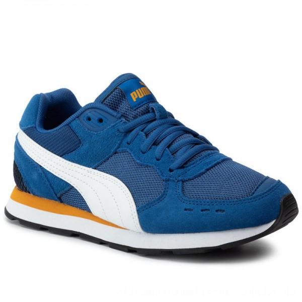 Puma Sneakers Vista Jr 369539 05 Galaxy Blue/Puma White [Outlet]