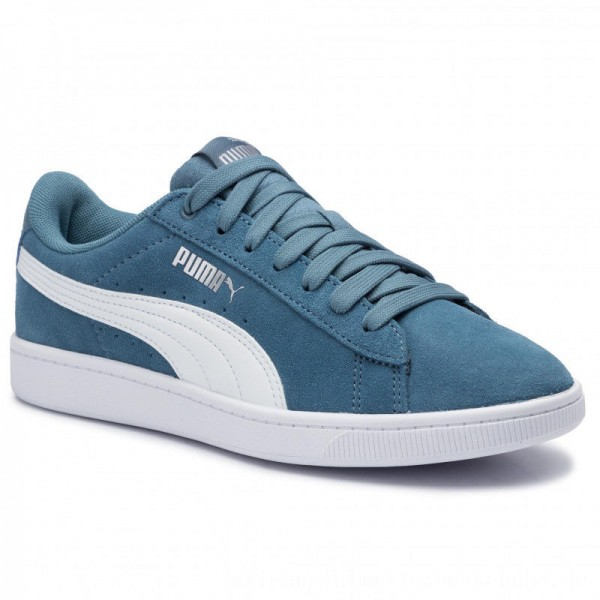 Puma Sneakers Vikky v2 369725 10 Bluestone/Puma White/Silver [Sale]