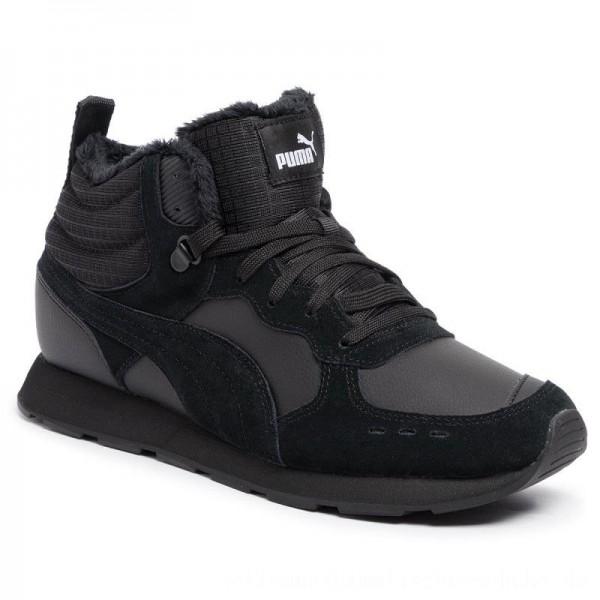 Puma Sneakers Vista Mid Wtr 369783 01 Black/Puma White [Sale]