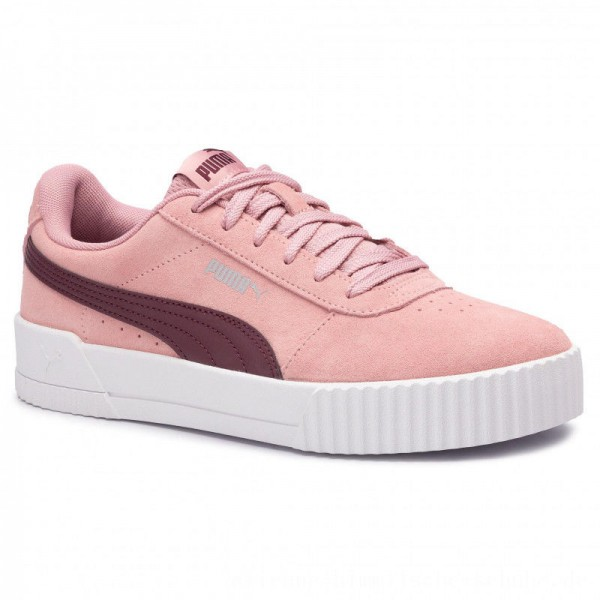 Puma Sneakers Carina 369864 06 Bridal Rose/Vineyard Wine [Outlet]