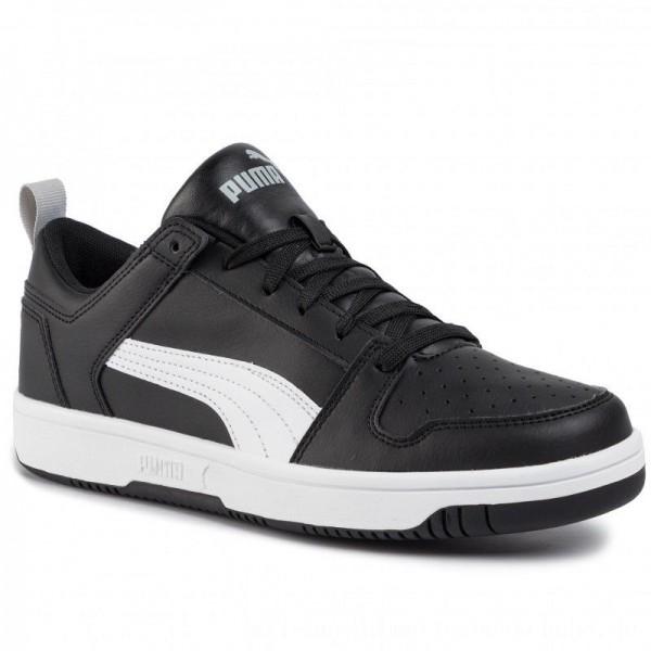 Puma Sneakers Rebound Layup Lo Sl 369866 02 Black/White/High Rise [Sale]