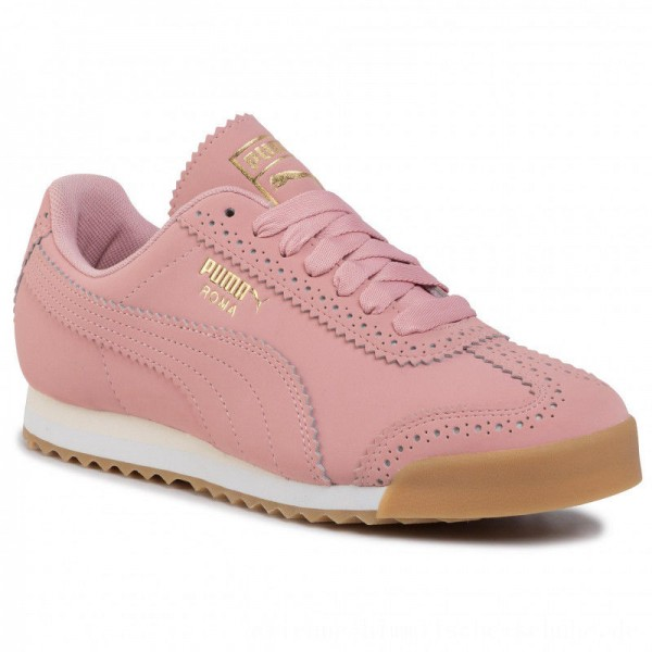 [BLACK FRIDAY] Puma Sneakers Roma Brogue Wn's 369936 01 Bridal Rose/Puma Team Gold