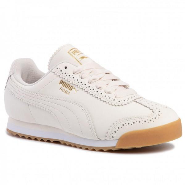 Puma Sneakers Roma Brogue Wn's 369936 02 Pastel Parchment/P.Team Gold [Sale]