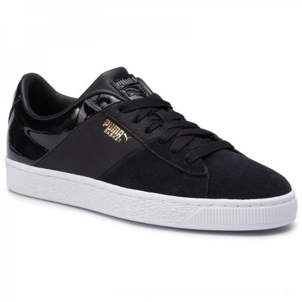 Puma Sneakers Basket Remix Wn's 369956 02 Black [Outlet]