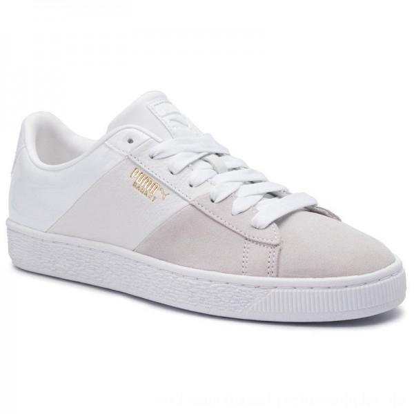 [BLACK FRIDAY] Puma Sneakers Basket Remix Wn's 369956 03 White/Puma Team Gold