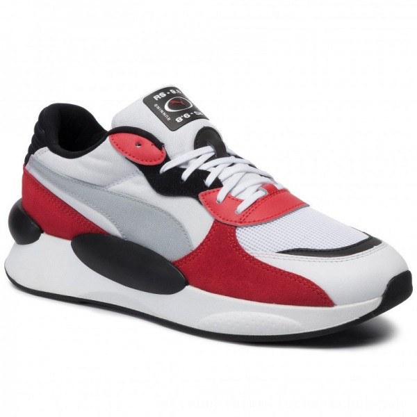 Puma Sneakers Rs 9.8 Space 370230 01 White/High Risk Red [Outlet]