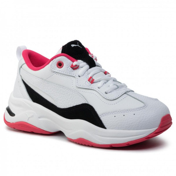[BLACK FRIDAY] Puma Schuhe Cilia Lux 370282 03 White/Black/Nrgy Rose/Silver