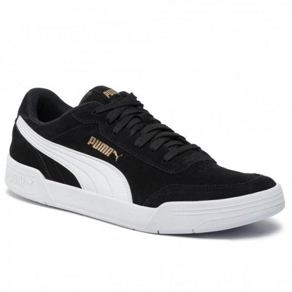 Puma Schuhe Caracal Sd 370304 01 P.Black/P.White/P.Team Gold [Outlet]