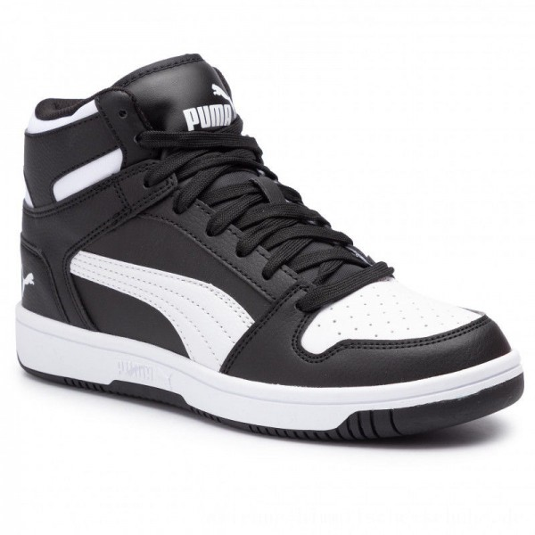 [BLACK FRIDAY] Puma Sneakers Rebound Layup Sl Jr 370486 01 Black/Puma White