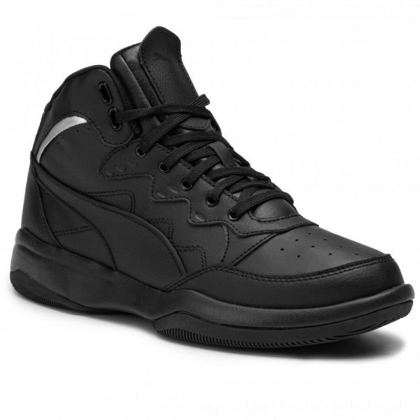 Puma Sneakers Rb Playoff L 370546 02 Black/Puma Silver [Outlet]