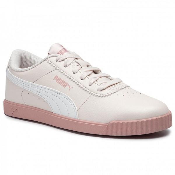 Puma Sneakers Carina Slim Sl 370548 03 Pastel Parchment/Puma White [Sale]