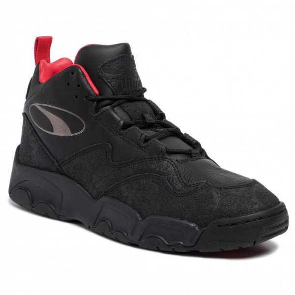 [BLACK FRIDAY] Puma Sneakers Source Mid World Cup 370599 01 P Blk/Bronze/High Risk Red
