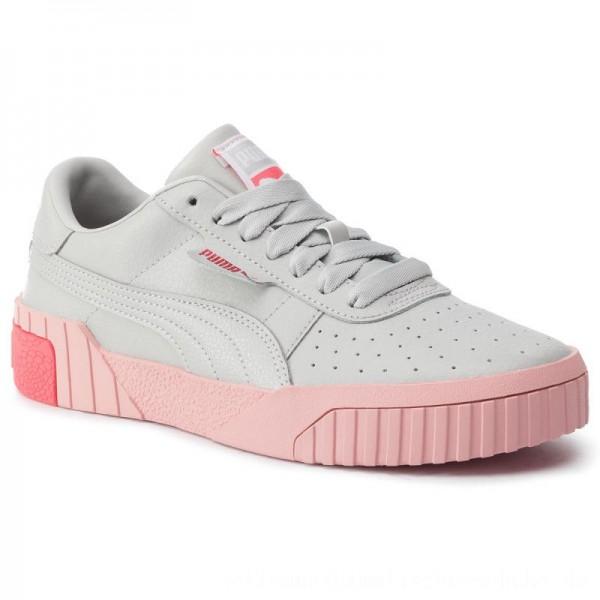 Puma Sneakers Cali Jr 370669 04 Gray Violet/Calypso Coral [Outlet]