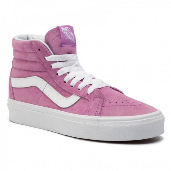 Vans Sneakers Sk8-Hi Reissue VN0A2XSBU5O1 (Pig Suede) Violet/True W [Sale]