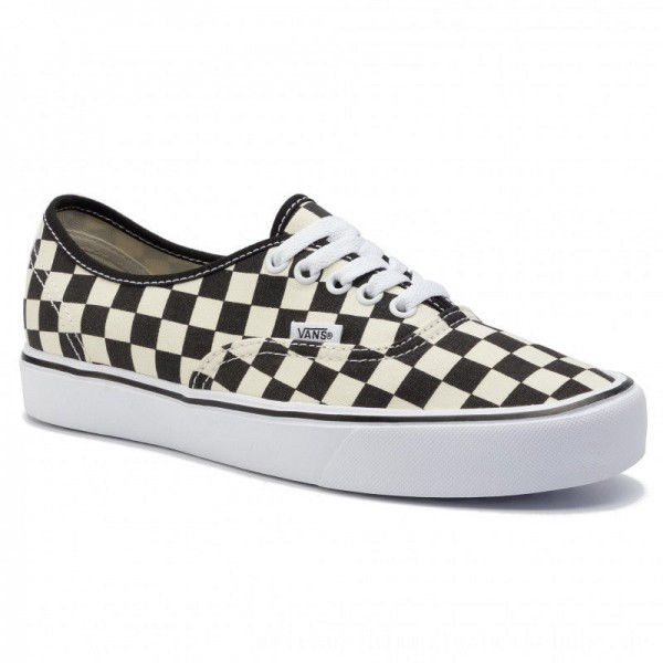 Vans Turnschuhe Authentic Lite (C) VN0A2Z5J5GX (Checkerboard) Black/White [Outlet]