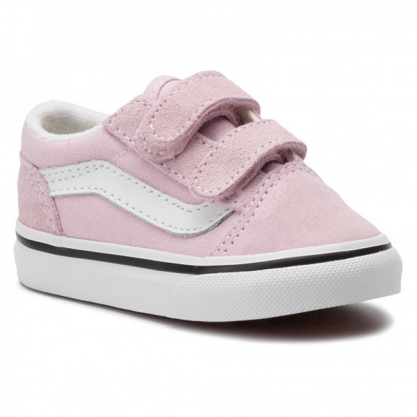 Vans Turnschuhe Old Skool V VN0A38JNV3M1 Lilac Snow/True White