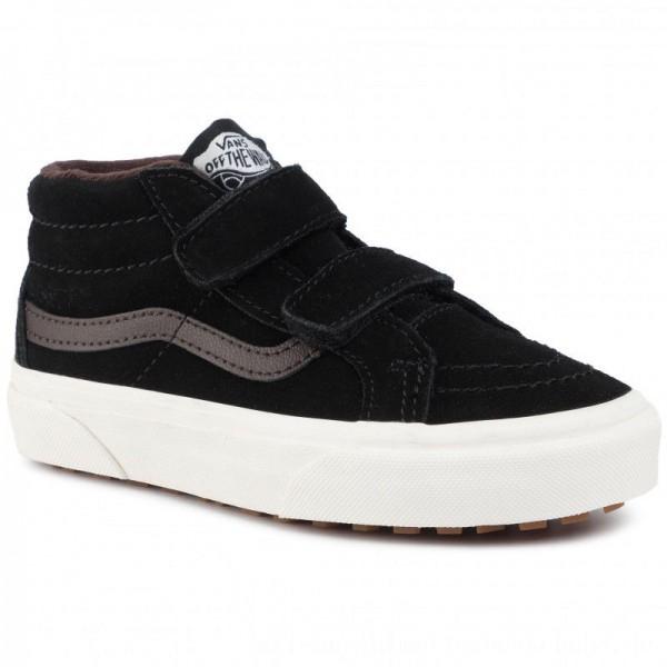Vans Sneakers Sk8-Mid Reissue V VN0A3TL4V3Z1 (Mte) Blk/Chocolate Torte