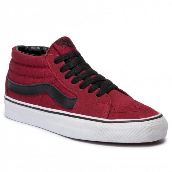 Vans Sneakers Sk8-Mid VN0A3WM31K41 Biking Red/True White [Outlet]