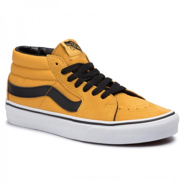 Vans Sneakers Sk8-Mid VN0A3WM3VYJ1 Mango Mojito/True White [Outlet]