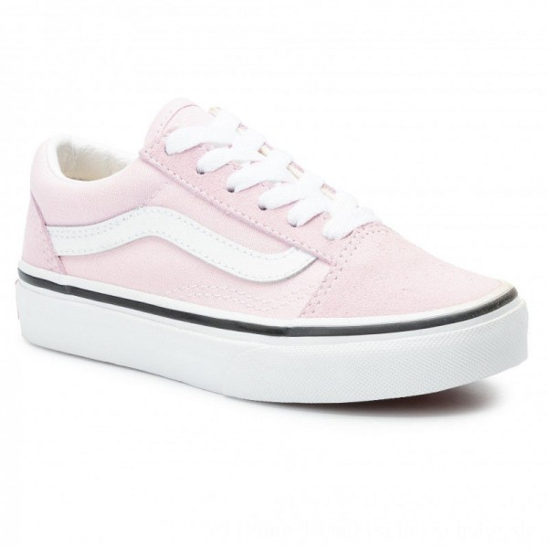 Vans Turnschuhe Old Skool VN0A4BUUV3M1 Lilac Snow/True White [Outlet]