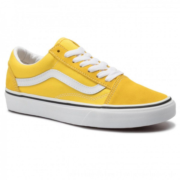 Vans Turnschuhe Old Skool VN0A4BV5FSX1 Vibrant Yellow/True White